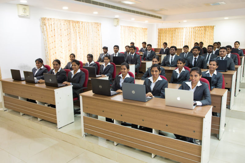 mba courses with hitech class room