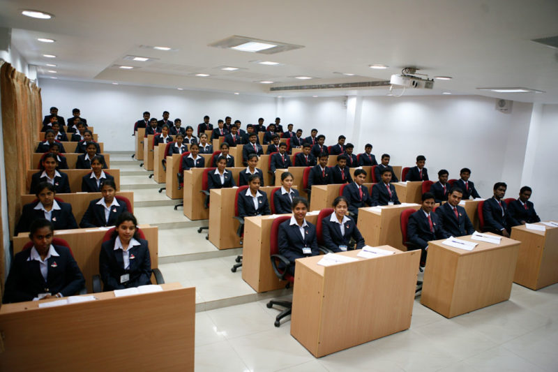 MBA college in trichy seminar hall facility
